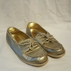 Merona Gold Shoes